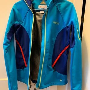 Columbia water repellent jacket